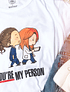 TEE CARTOON / MEREDITH & CHRISTINA