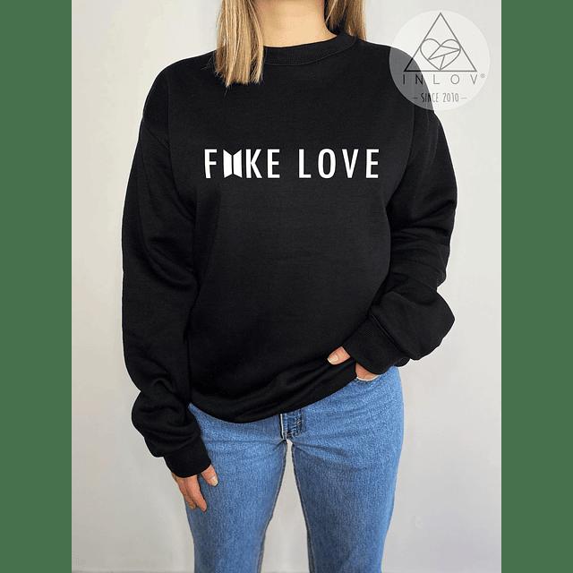 PULLOVER FAKE LOVE