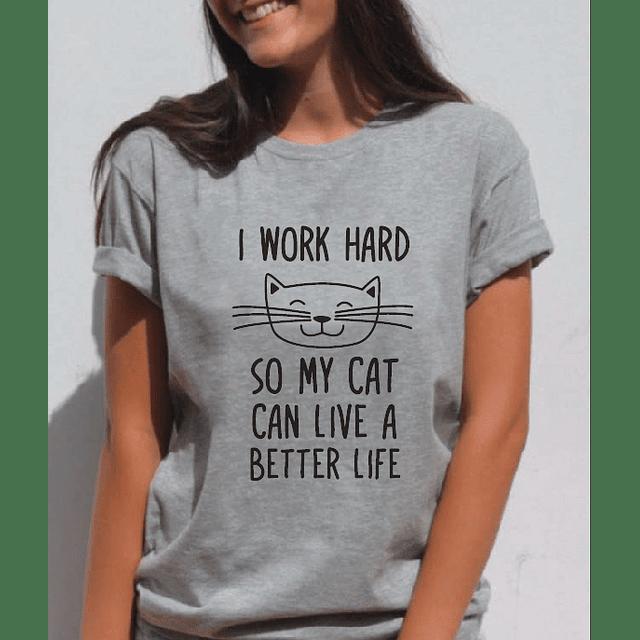 TEE UNISEX / WORK CAT