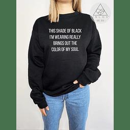 PULLOVER SHADE OF BLACK
