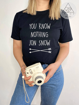TEE UNISEX / YOU KNOW NOTHING JON SNOW
