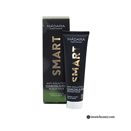 Mádara Smart Anti-Pollution Charcoal&Mud Repair Mask