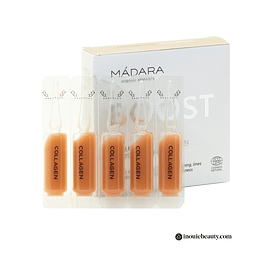 Mádara Hyaluronic Collagen Booster Ampoules