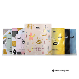 Pibu Holiday Mask Set