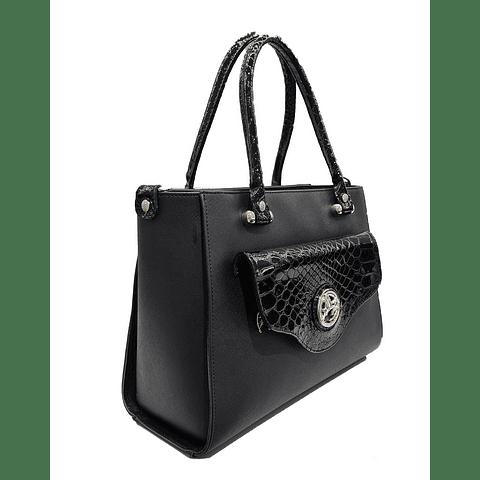 Bolsa de mão Cherry Blossom Black