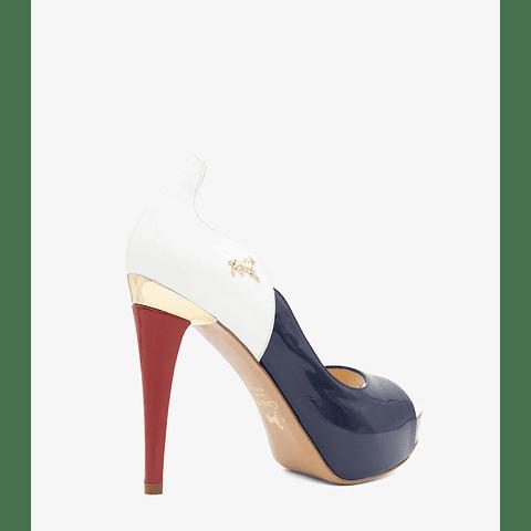 Sapato Alto Cavalinho Gold