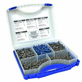 POCKET HOLE SCREW KIT 675 piezas