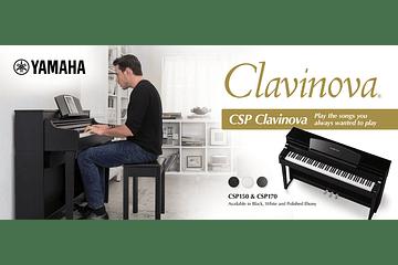 CLAVINOVAS CSP, EL PRIMER PIANO SMART DE YAMAHA.