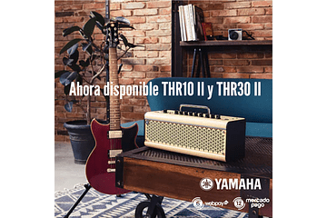 AMPLIFICADORES YAMAHA THR II - WIRELESS