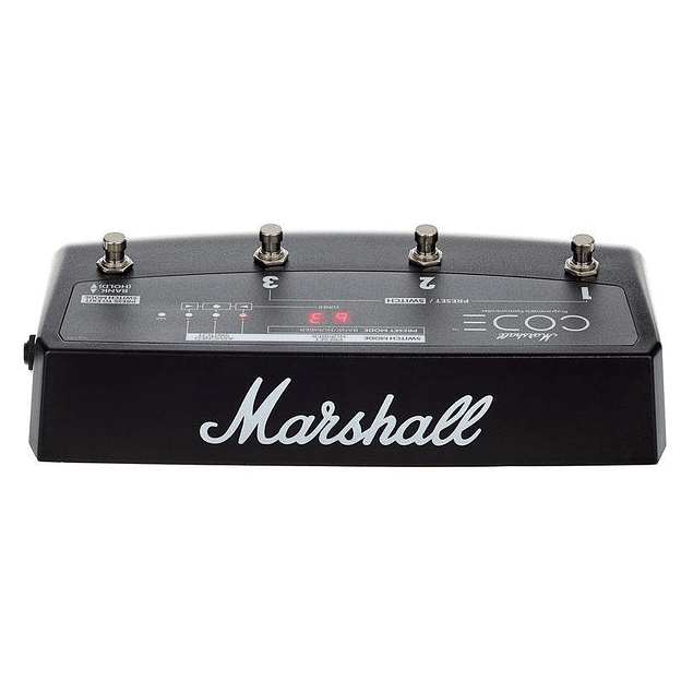 MARSHALL PDEL 91009 PEDALERA FOOTSWITCH AMPLIFICADOR