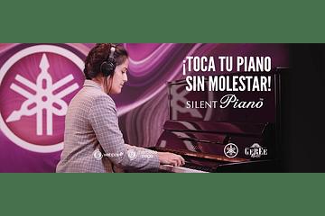 Pianos Silent de Yamaha, tu piano acústico, ¡cuando tú quieras!