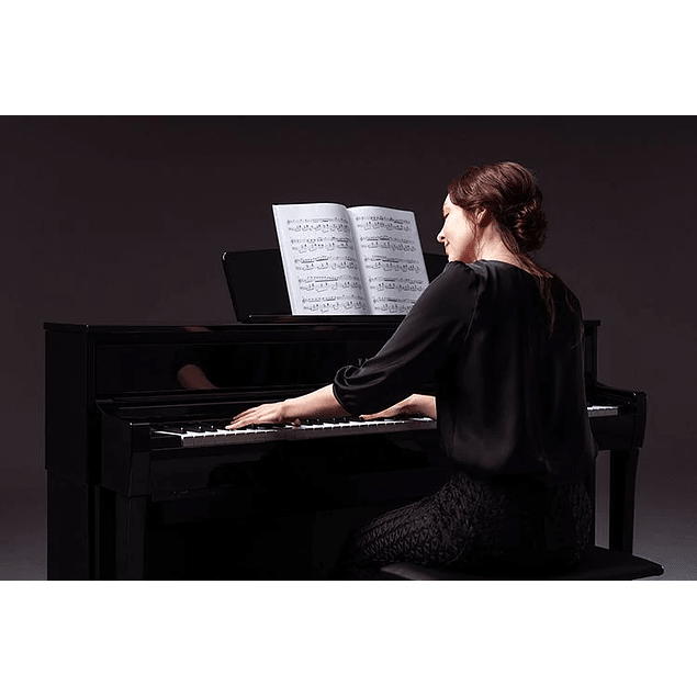 YAMAHA CLP735B BLACK CLAVINOVA PIANO DIGITAL