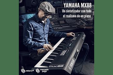 YAMAHA MX88, TODO EL REALISMO DE UN PIANO