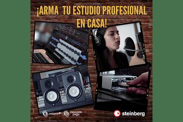 STEINBERG & YAMAHA HS, TU HOME STUDIO PERFECTO.