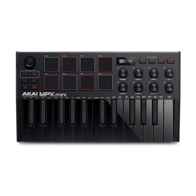 AKAI MPK MINI MKIII BLACK CONTROLADOR MIDI