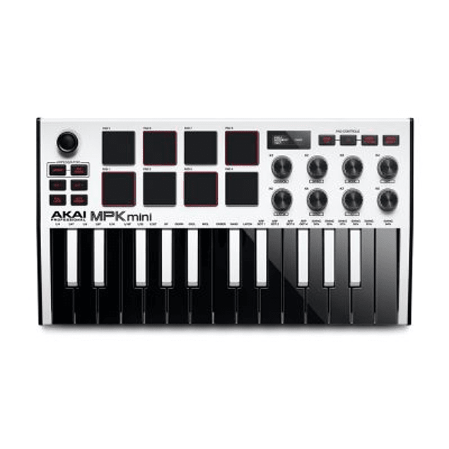 AKAI MPK MINI MKIII WHITE CONTROLADOR MIDI