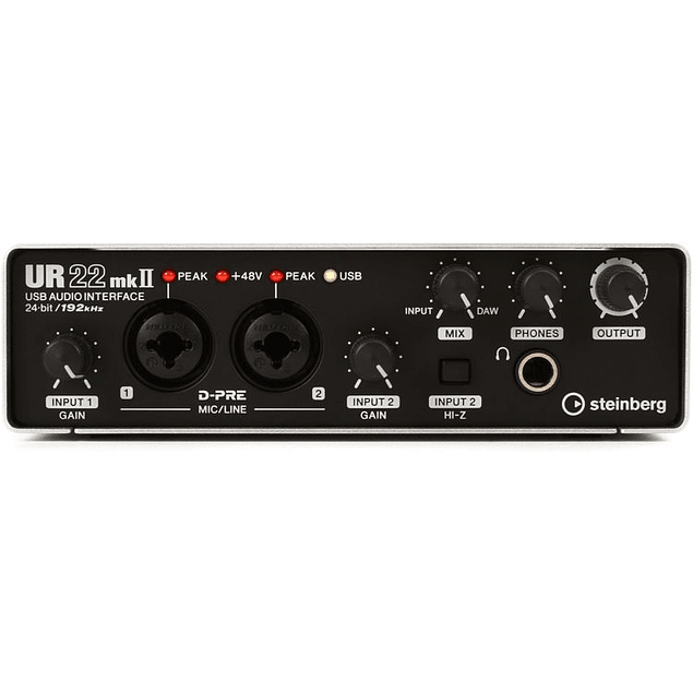 STEINBERG UR22 MKII RECORDING PACK INTERFAZ DE AUDIO