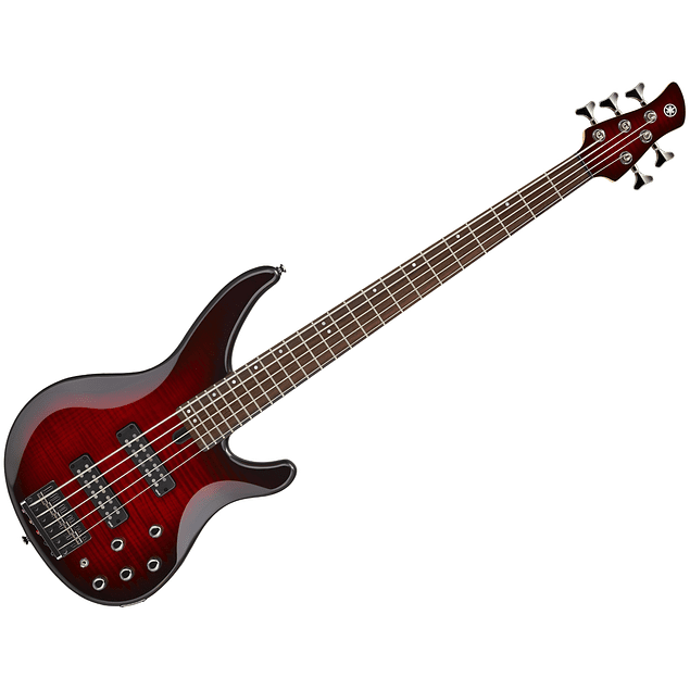 YAMAHA TRBX605FM DARK RED BURST BAJO ELECTRICO