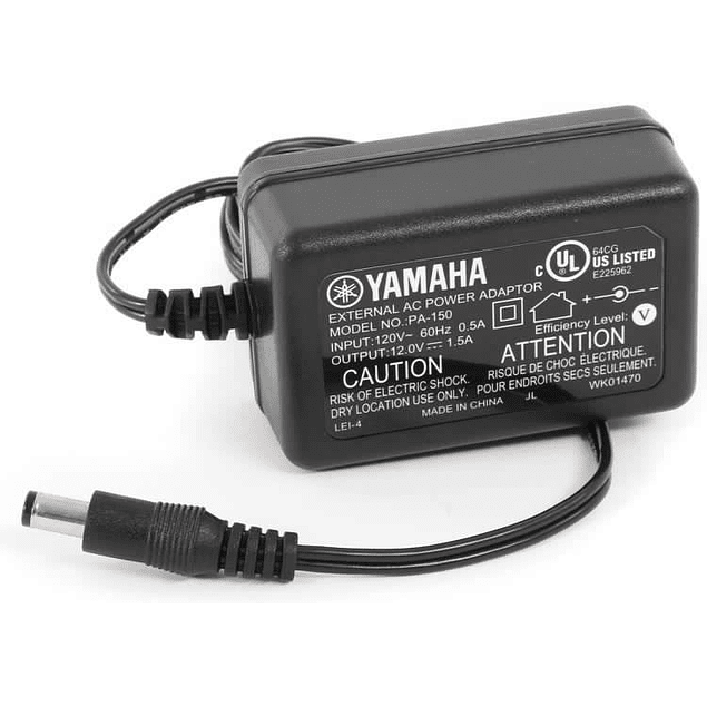 YAMAHA PA150 ADAPTADOR - POWER SUPPLY - 220V