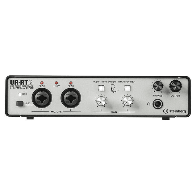 STEINBERG UR-RT2 INTERFAZ DE AUDIO RUPERT NEVE DESIGNS
