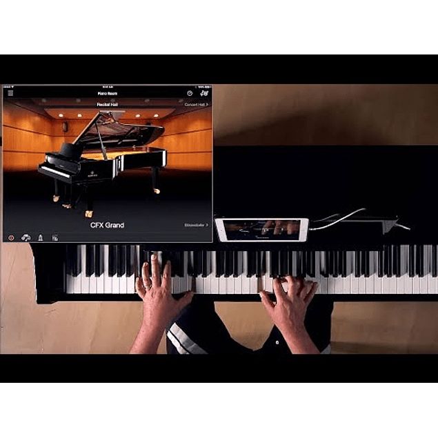 YAMAHA CSP170B CLAVINOVA SMART PIANO DIGITAL
