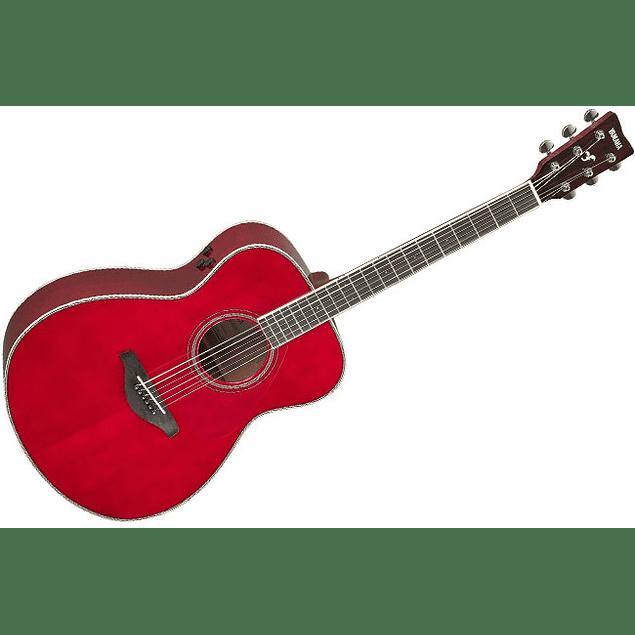 YAMAHA GUITARRA ELECTROACUSTICA TRANSACOUSTIC FS TA RUBY RED