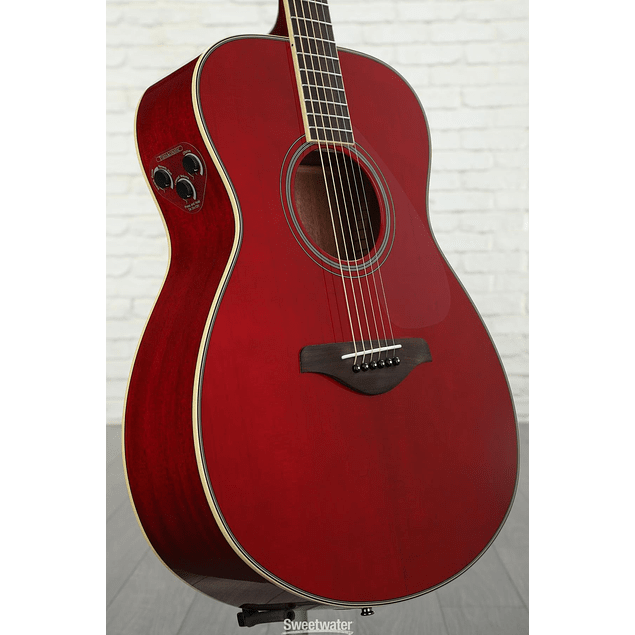 YAMAHA GUITARRA ELECTROACUSTICA TRANSACOUSTIC FS TA RUBY RED