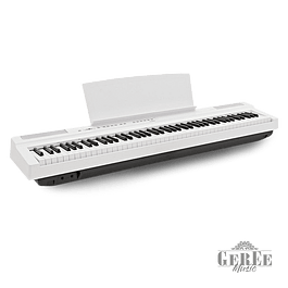 YAMAHA P125 WHITE PIANO DIGITAL