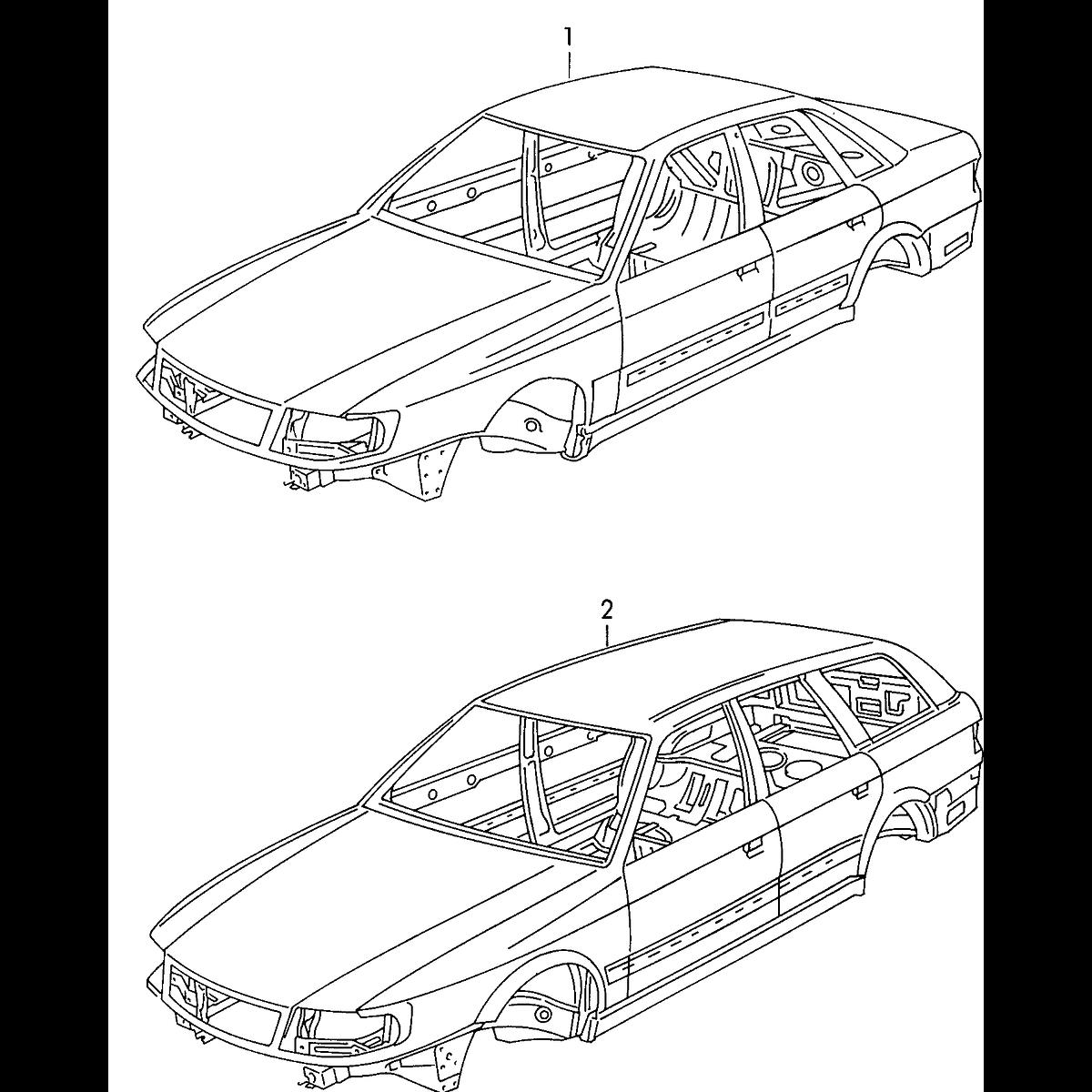 Manual De Despiece Audi S6 (1994-1997) Español
