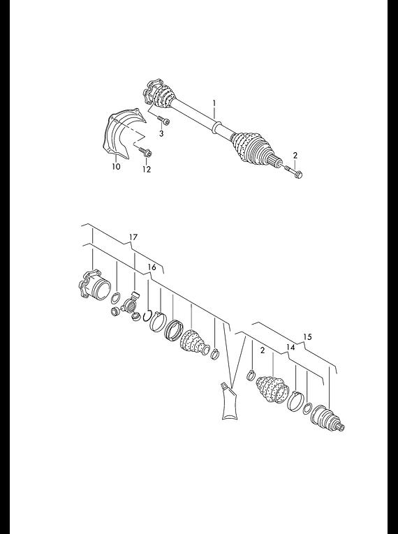 Manual De Despiece Audi Q5 (2017-2021) Español