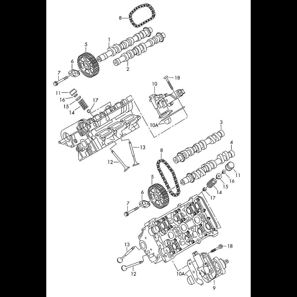 Manual De Despiece Audi RS4 (1999-2001) Español