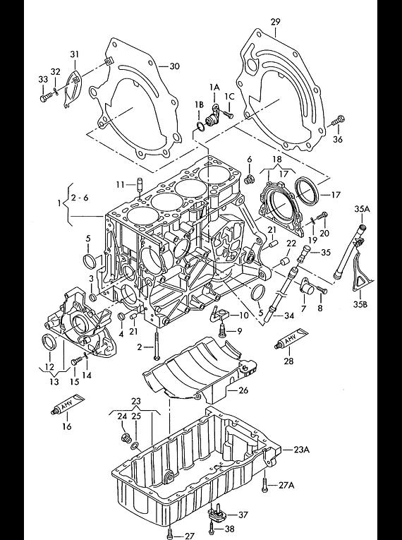 Manual De Despiece Audi A4 (1994-2001) Español