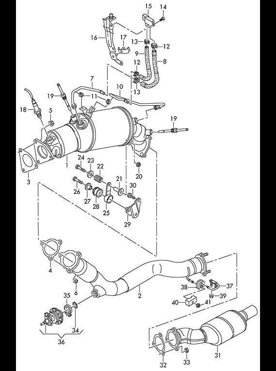 Manual De Despiece Audi A3 (2012-2021) Español
