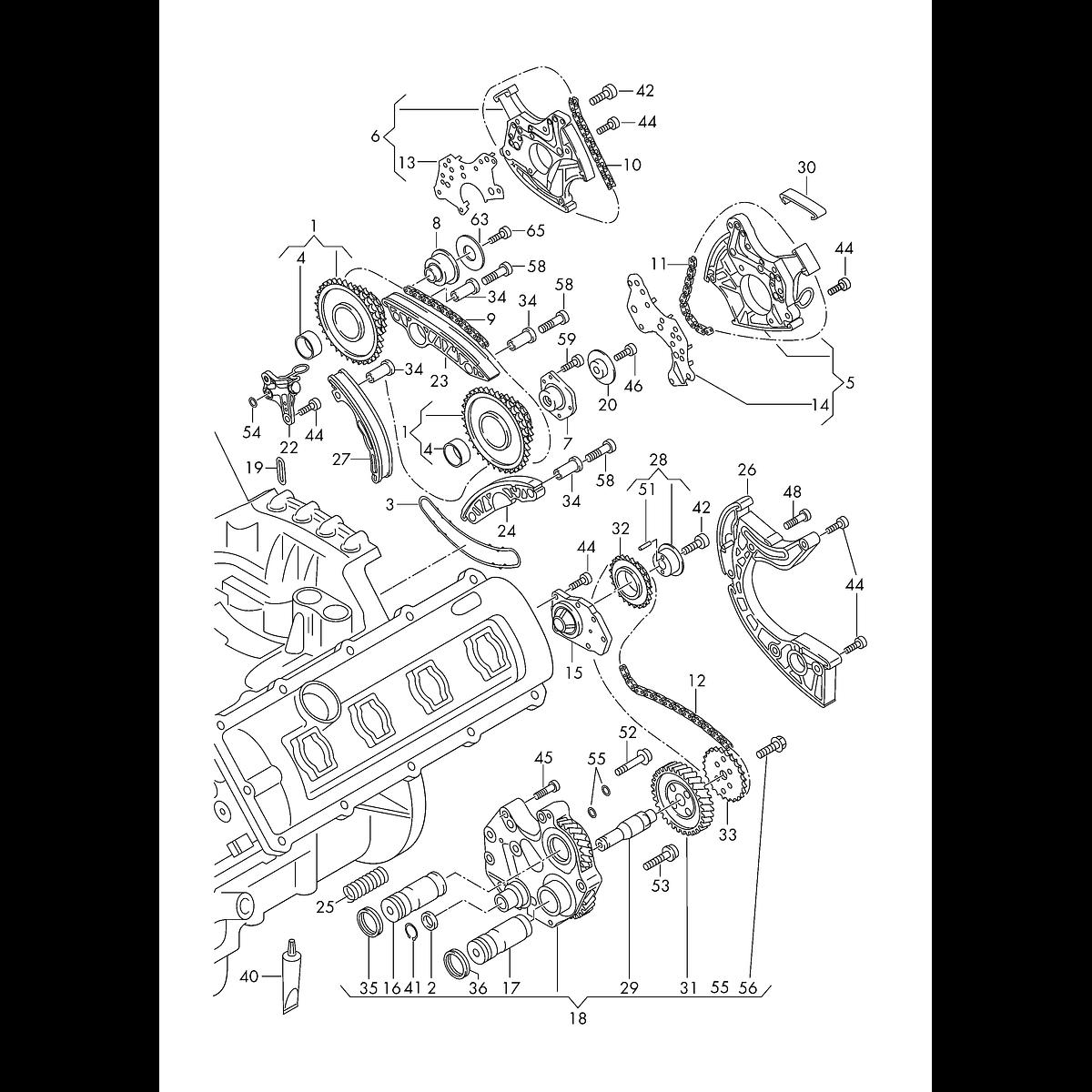 Manual De Despiece Audi Q7 (2006-2015) Español