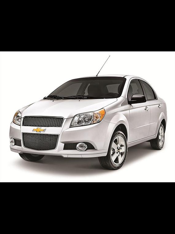 Manual De Taller Chevrolet Aveo  2012