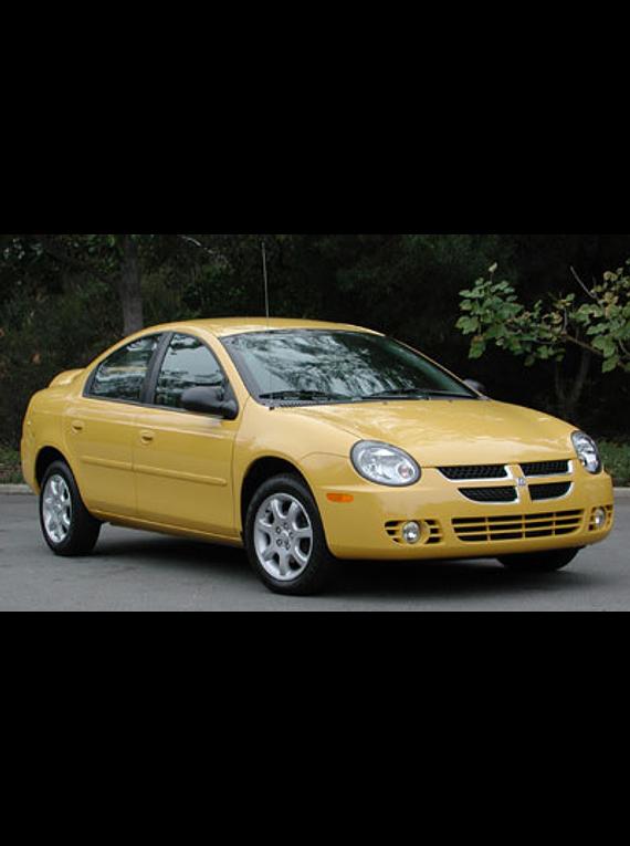 Manual De Taller Chrysler Neon  2000