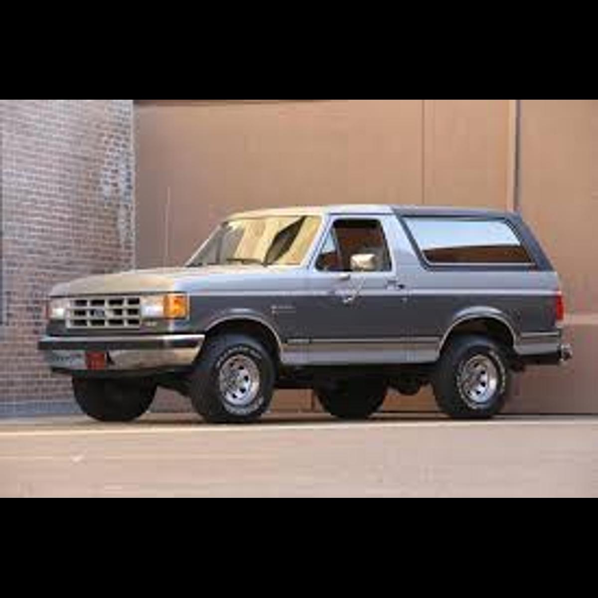 Manual De Taller Ford Bronco Ii (1983-1990) Español