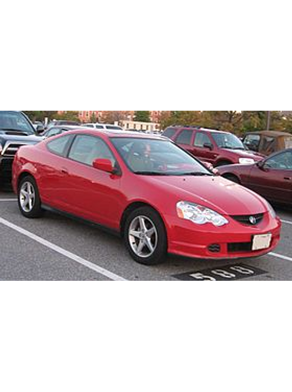 Manual De Taller Acura Rsx  2001 U20132006  Ingles