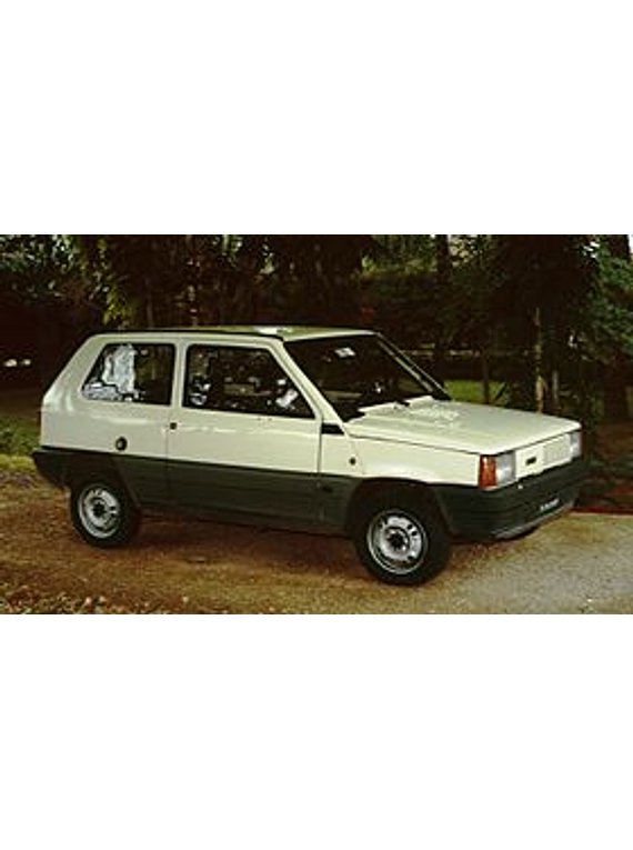 Manual De Despiece Fiat Panda  1980