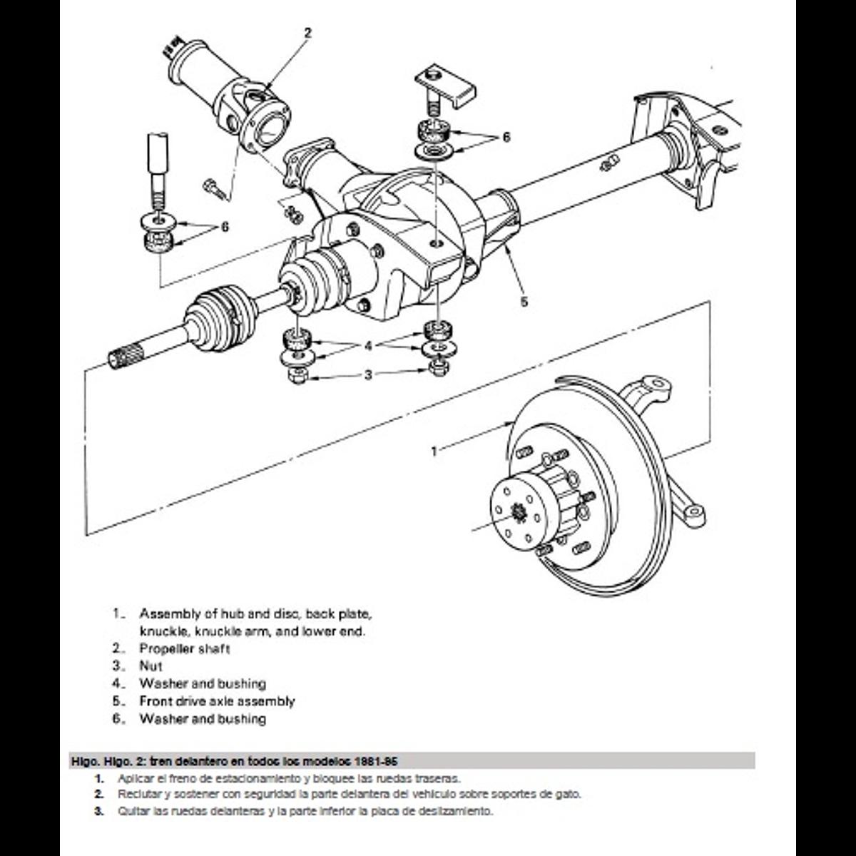 Manual De Taller Chevrolet Luv