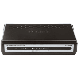 D-Link Switch No Administrable 16 ports 10/100 (Mesa) DES-1008A