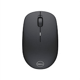 DELL Mouse Inalambrico WM126 3 botones /Nano receptor USB Wireless Negro