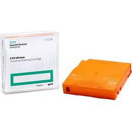 HPE LTO ULTRIUM UNIVERSAL CLEANING CARTRIDGE (FOR LTO 1-7), cinta de respaldo