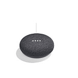 Google asistente voz home mini charcoal