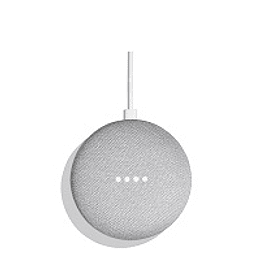 Google asistente voz home mini chalk