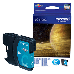 Brother LC-1100M cartucho de tinta Original Magenta 1 piezas