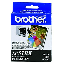 Brother LC-980BK cartucho de tinta Original Negro 1 piezas
