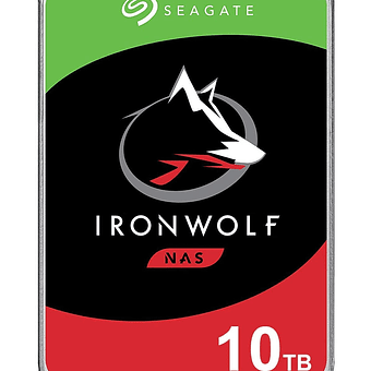 Seagate NAS HDD IronWolf 3.5 10000 GB Serial ATA III