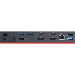 Lenovo Adaptador Dock ThinkPad USB C y Thunderbolt warranty 3 year