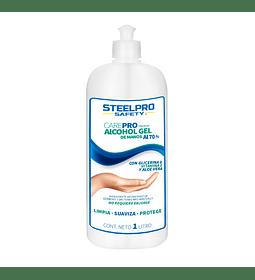 Alcohol gel premium de manos al 70% CarePro - 1 Litro